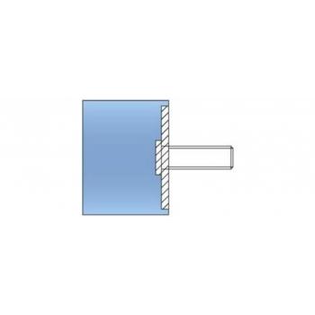 Kummipuks D25/20 6x15