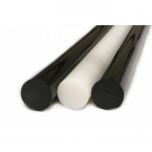 PA6E ümar  55/1000mm must